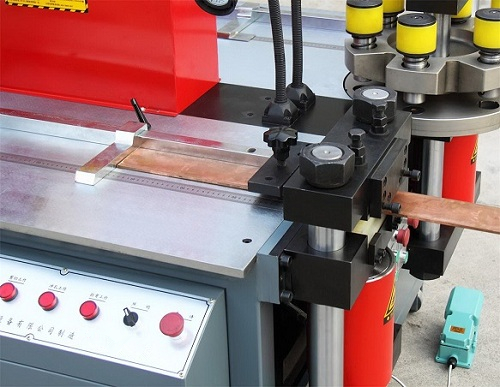 20x260mm copper punching machine for High and low voltage switchgear