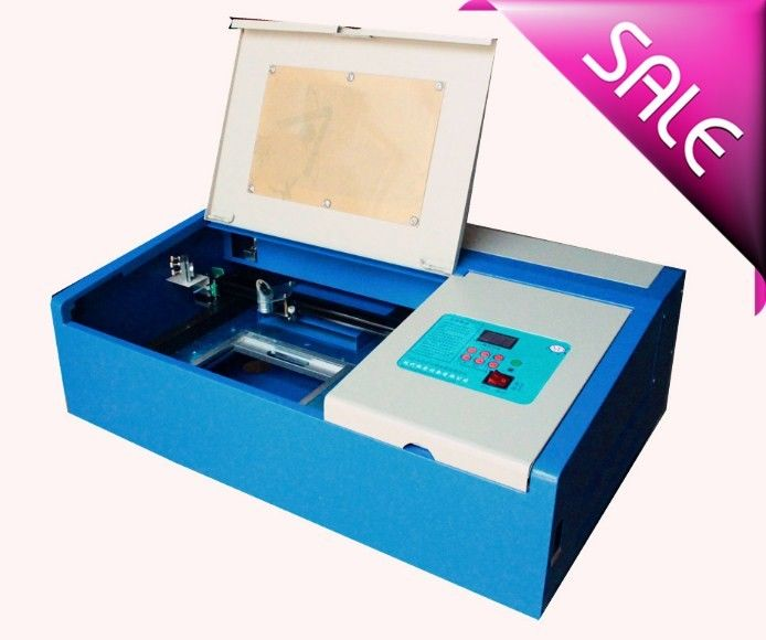 Co2 Mini Laser Cutting And Engraving Machine For Leather With 300 X 200mm Working Size