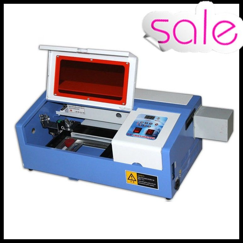 50W Portable Mini Laser Engraving Machine For Rubber / Wood / Acrylic / Glass