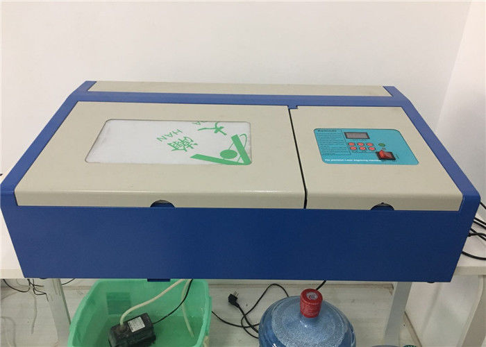 Processing Stamps Mini Laser Engraving Machine High Efficiency RECI Laser Tube