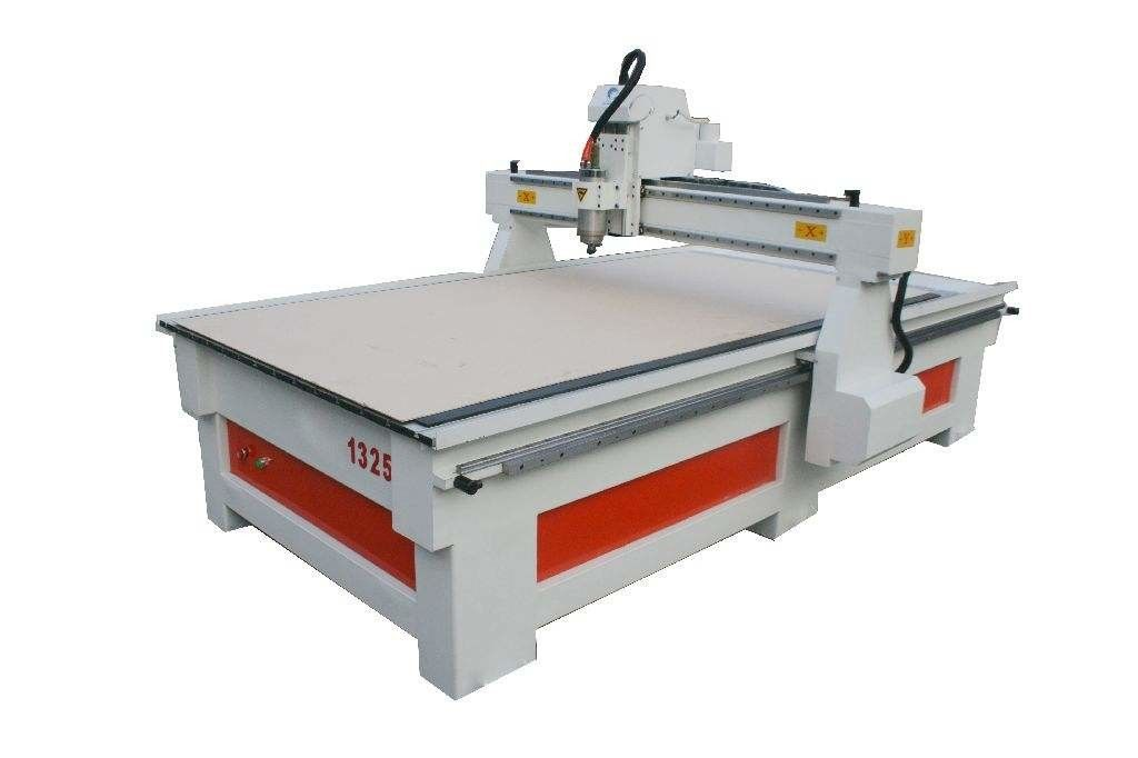 3.2KW 1300x2500 Dsp Control CNC Router Machine For Furniture And Woodworking